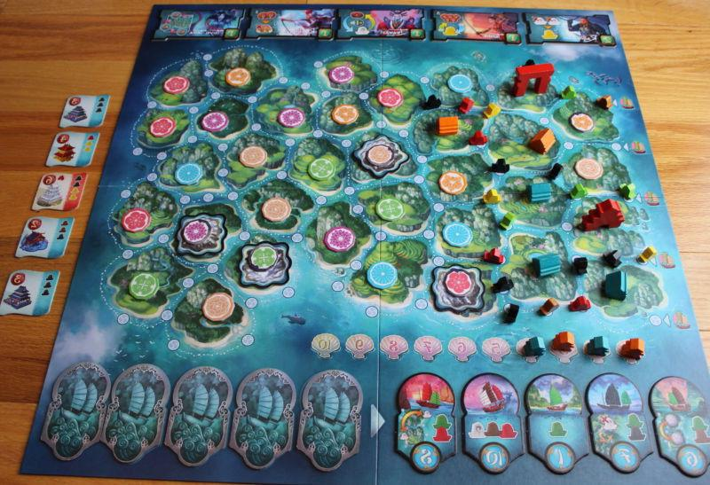 Yamatai Board Game Days of Brand New