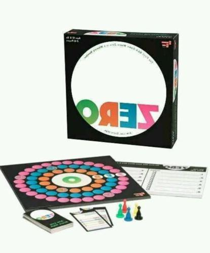 zero family board game by new aim
