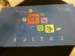 Latice Board Game Deluxe Edition Strategy Tile game Adacio R