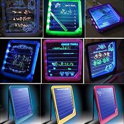 Cido LED Light-Up W/Pen Fun Memo Message Board Home Gift Kit