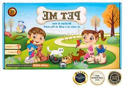 STEM game PET ME for Multiplication and Division math board