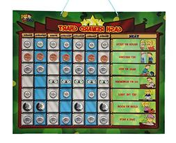 Cadily Magnetic Cash Reward Chart for Kids | Responsibility