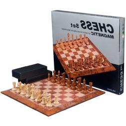 Full Sized Magnetic Chess Set with Large 15.5 Inch Chess Boa