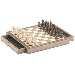 Magnetic Chess Box Set in Walnut