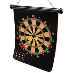 GSE Games & Sports Expert Magnetic Dartboard with 6 Safety D