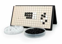 Magnetic Travel Go Game Set Magnetic Plastic Stones Large Fo