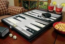 Mainstreet Classics 15 Inch Tournament Backgammon Set