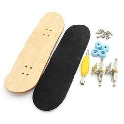 Maple Wooden deck Professional Skateboard Fingerboard Blue 4