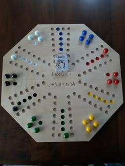Marble Board Game Marble Chase 2 sided 4&6 player