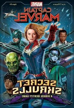Marvel Game, Usaopoly, Captain Marvel Secret Skrulls Board G