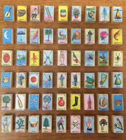 Mexican Loteria Bingo Board Game - Handmade Wooden Cards - 5