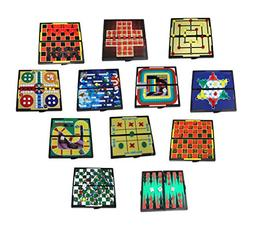 Mini Magnetic Board Games - Set Of 12 Individually Packaged