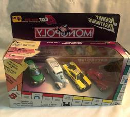 Johnny Lightning Monopoly 4 Car Set : 1977 Camaro, Bus Plymo