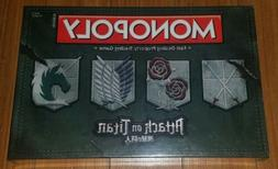 Monopoly Attack on Titan Board Game USAopoly Brand New Seale