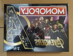 Monopoly: Marvel Avengers Edition Board Game for Ages 8 and
