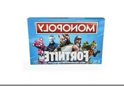 Monopoly Fortnite Edition Board Game Pieces Kids Cards Game
