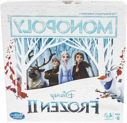 monopoly game disney frozen 2 edition board