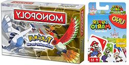 All Your Base Monopoly Game: Pokémon Johto Edition Board Ga