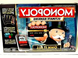 Monopoly Game Ultimate Banking Edition Electronic Board Game