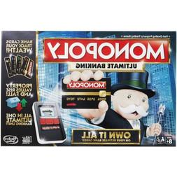 Monopoly Game: Ultimate Banking Edition Electronic Game Boar