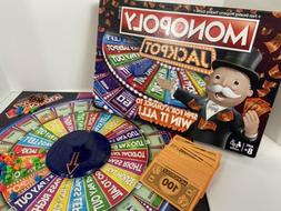 Monopoly Jackpot Board Game Hasbro Gaming Parker Brothers