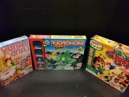 Monopoly Junior Board Game Hasbro Jr + Candy Land + Tic Tac