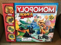 Hasbro Monopoly Junior Board Game New