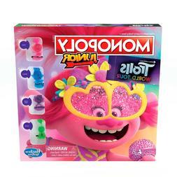 Monopoly Junior Trolls 2 World Tour Edition Dream Works Movi