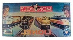 Monopoly Lionel Collector's Edition - 2000 - Hasbro - BRAND