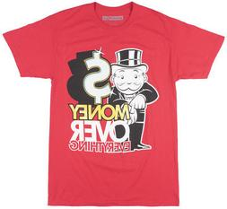 Monopoly Money Over Everything Short Sleeve T-Shirt Board Ga
