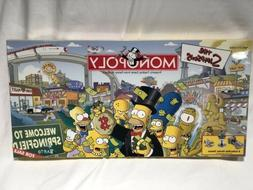 Monopoly Parker Bros The Simpsons 2001 Welcome to Springfiel