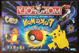 Monopoly Pokemon Board Game 1999 Hasbro Collectors Edition S
