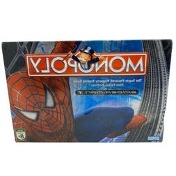 Monopoly Spider-Man Board Game Movie Edition  Silver 3-D Cov