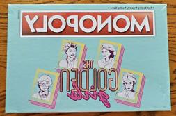 "HASBRO MONOPOLY ""THE GOLDEN GIRLS""  GAME BOARD-NEW IN SHRINK"