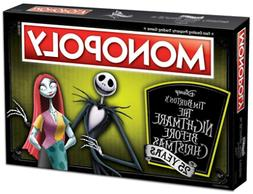 USAopoly Monopoly The Nightmare Before Christmas Anniversary