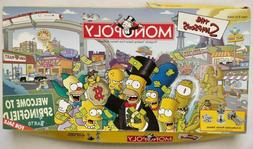 Monopoly - The Simpsons - Parker Brothers Board Game - NEW b