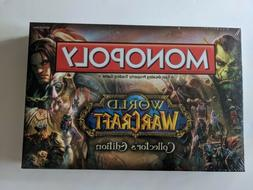 Monopoly World of Warcraft Collectors Edition Board Game