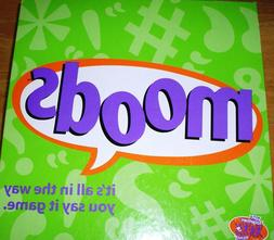 MOODS Board Game EXCELLENT CONDITION! 100% COMPLETE! VERY RA