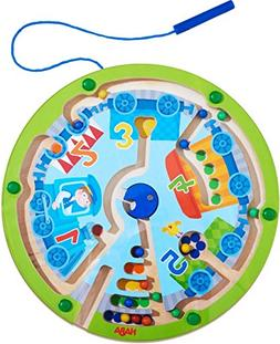 HABA Neato Number Train Magnetic Maze Game - STEM Approved F