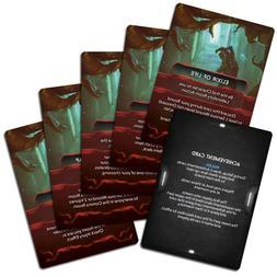 Nemesis Board Game Achievement Cards Promo Mini Expansion Aw
