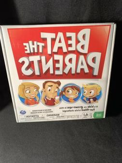 New Beat the Parents Family Trivia Board Game Kids vs Grown