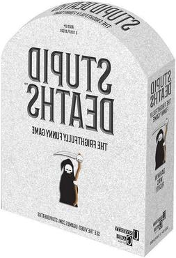 New Board Game: Stupid Deaths 2-6 Players Factory Sealed Box
