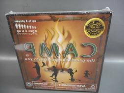 New! Camp Board Game Family Educational Multi-Generational P