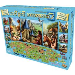 new carcassonne big box board game unopened