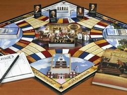 New Constitutional Quest Board Game Educational American His