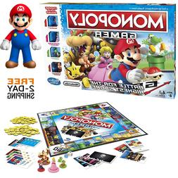 New Monopoly Gamer Mario Family Board Games Fun Playing Part