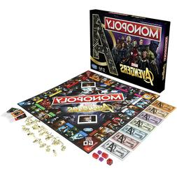 Hasbro NEW Gaming Edition Monopoly Avengers Board Game Gold