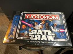 ~NEW Monopoly Star Wars 40th Anniversary Special Edition Mov