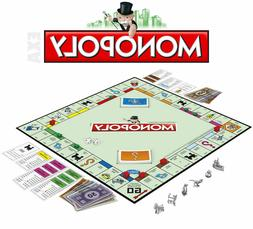 NEW Monopoly The Classic Edition Traditional Family Fun Boar