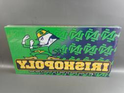 *NEW* NOTRE DAME IrishOpoly BOARD GAME - Fighting Irish them